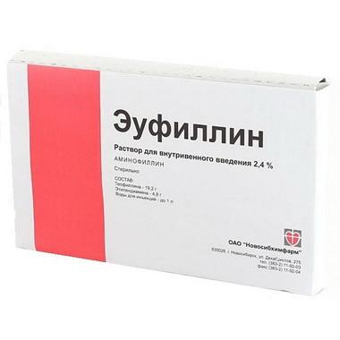 Введение эуфиллина